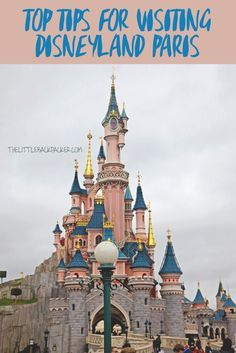 I DIDN'T EVEN KNOW THERE WAS A DISNEYLAND IN PARIS!