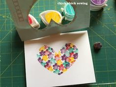 chick chick sewing: My Handcarved Eraser Stamps and More Makes❣ 自作の消しゴムはんこ、がま口、スマホケースなどあれこれと♪