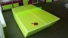 Jonathan Ive speaks about one of his most treasured projects, the Publicis Dublin table tennis table, designed with winning in mind. Tennis Table, Ping Pong Table, Dublin, Life, Design, Home Decor, Decoration Home, Room Decor
