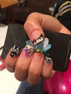 Acrylic nails, nails, nails art