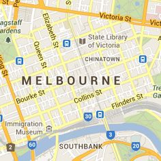 Directions to Flinders Station Backpackers in Melbourne - Melbourne City Map