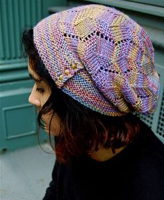 Fractured Light hat and mittens: Knitty Deep Fall 2012