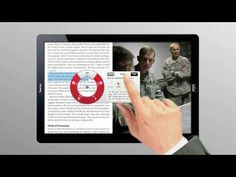 Time Magazine Tablet Demo - YouTube