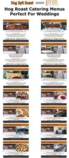Hog Roast Catering Menus