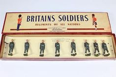 BRITAINS United States Military Police (Snowdrops) Set #2021 wBOX - http://hobbies-toys.goshoppins.com/toy-soldiers/britains-united-states-military-police-snowdrops-set-2021-wbox-2/