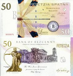 50 Spatny  UNC Banknote