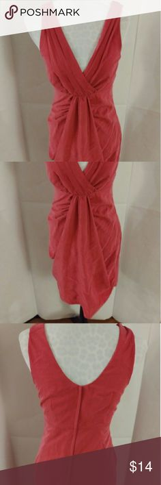 H&M bright pink silky surplus bodice dress Sexy & stylish, this is a silky hot pink cocktail dress by H&M. Featuring a surplus bodice, draped skirt, and pleating at the shoulders. Fully lined. 70% modal/30% polyester. In excellent used condition (no rips, tears, or stains.) Paired with sparkly jewelry and stilettos, this is the PERFECT New Year's Eve dress! H&M Dresses Midi