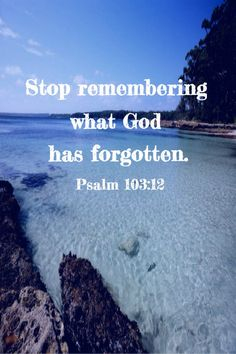 Scripture Quotes Encouraging-Stop remembering what God has forgotten. Bible Words, Scripture Quotes, Jesus Quotes, Faith Quotes, Bible Verses, Prayer For The Day, Word Of The Day, Spiritual Inspiration Quotes, I Quit My Job
