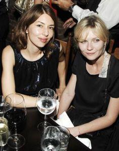 Sofia Coppola and Kirsten Dunst Style icon: Sofia Coppola