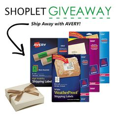 Shoplet wants to make your snail-mail communication easier this holiday season by giving away an assortment of Avery Mailing Labels to 8 lucky winners!