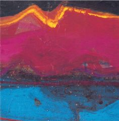 Barbara Rae: Lammermuir 1998 Barbara Rae, Contemporary Landscape, Abstract Landscape, Abstract Art, Colorful Paintings, Painting Prints, Painting & Drawing, Lovely Things, Brushes