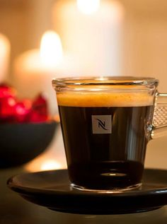 Glass Espresso Cups | Thinking of staying in tonight? We'll keep you company with your favorite Nespresso flavor and our exquisite accessories.