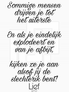 klopt Jokes Quotes, Sign Quotes, True Quotes, Qoutes, Meaningful Quotes, Inspirational Quotes, Dutch Quotes, Hand Lettering Quotes, Philosophy Quotes