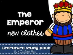 The Emperor New Clothes  This print & go book companion for first, second, third graders & homeschoolers will get students thinking critically & analyzing text with graphic organizers, vocabulary, illustrations, analyzing details, KWL, plot, sequencing, descriptions, characters, key details in text, comprehension skills & more! Perfect for whole group & small group instruction, guided reading, individualized instruction & differentiated instruction. {1st, 2nd, 3rd grade, balanced literacy}