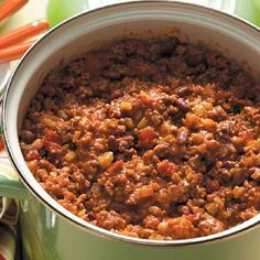 Church Supper Chili