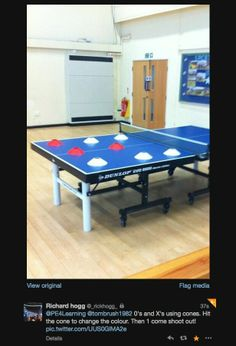 Table Tennis Fun Games
