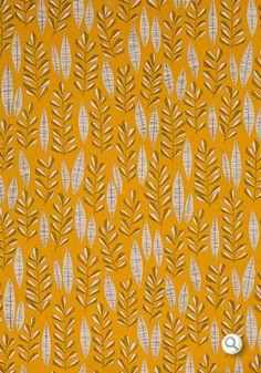 mid-c inspired : foliage : Garden City Sunburst Fabric