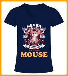 A Woman Loves Mouse - Maus shirts (*Partner-Link)