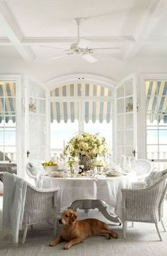 Ralph Lauren Home's Watch Hill Collection captures the charm of a traditional classic American coastal town Photo source: Coastal Cottage, Coastal Homes, Coastal Style, Coastal Living, Coastal Decor, Country Living, Southern Homes, Modern Coastal, Country Decor
