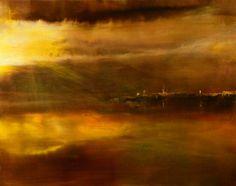 """Saatchi Art Artist Maurice Sapiro; Painting, """"Long Wharf"""" #art"""