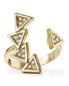 Open arrow ring   | stylemesouthern.co |
