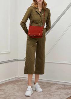 Sac porté épaule Igor femme | Jérôme Dreyfuss | 24S | 24S Jerome Dreyfuss, Khaki Pants, Shoulder Bag, Fashion, Shoulder Bags, Woman, Fashion Styles, Bags, Moda