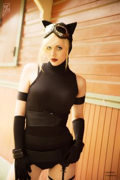 Cat Woman- Anime DC by Elle-Cosplay.deviantart.com on @deviantART