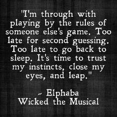Wicked Quotes Musical