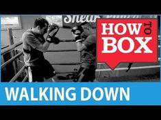 Walking Down Your Opponent - How to Box Boxing Drills, Boxing Workout, Boxing Boxing, Mma, Boxing Techniques, Roundhouse Kick, Muay Thai Kicks, Self Defense Martial Arts, Tai Chi