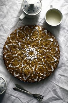 Carrot Cake #lace #sugar