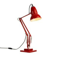 1227 Anglepoise Lamp by George Carwardine. Designed and patented in 1934 and produced by Herbert Terry Ltd. Desk Lamp, Table Lamp, Anglepoise Lamp, Childrens Bedroom, Desk Light, Modern Lighting, Contemporary Furniture, Cool Designs, Healing