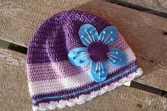 spring crocheted hat