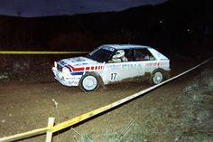 Didier Auriol on the Wycop Forest stage of the 1991 Lombard RAC rally