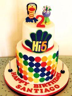 Hi5 cake