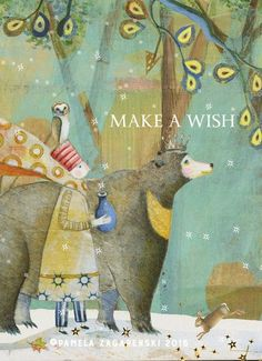 Card 438 Make A Wish - Birthday. Happy Birthday Wishes, Birthday Greetings, Birthday Cards, Arte Popular, Children's Book Illustration, Illustration Children, Birthday Images, Whimsical Art, Make A Wish