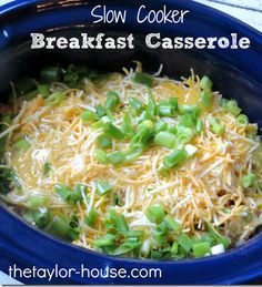 Cooker Recipes: Breakfast Casserole Slow Cooker Recipes: Breakfast Casserole for my staff appreciation breakfast this week!Slow Cooker Recipes: Breakfast Casserole for my staff appreciation breakfast this week! Slow Cooker Breakfast, Crockpot Breakfast Casserole, Breakfast Dishes, Breakfast Time, Breakfast Recipes, Overnight Breakfast, Casserole Recipes, Egg Casserole, Breakfast Ideas