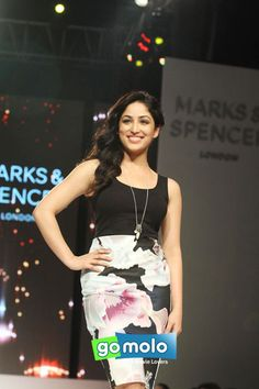 Yami Gautam at the Launch of 'Marks & Spencer' new collection at Hotel Taj Lands End in Bandra, Mumbai