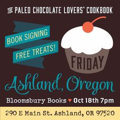 The Spunky Coconut: Paleo Chocolate Lovers signing and free treats