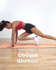 Fitness Workouts, Abs Workout Routines, Fitness Workout For Women, Easy Workouts, Fitness Tips, Flat Abs Workout, Oblique Workout, Gym Workout Videos, Funny Workout
