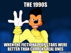 I loved Powerline's concert! Disney movies from the 90s. I miss them.