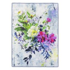 Aubriet Fuchsia Throw | Designers Guild
