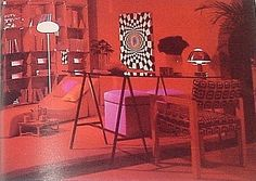 MID CENTURY MODERN 1970s Bloomingdale's BOOK OF HOME DECORATING Interior Design