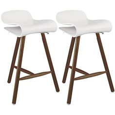 2xhome set of two2 white 265 inches bar stool co