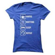 Great Shirt For Knitting Lovers