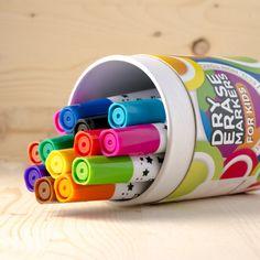 Dry Erase Markers For Kids Whiteboard Erasable Marker Pens Set - 13 Fresh Colors