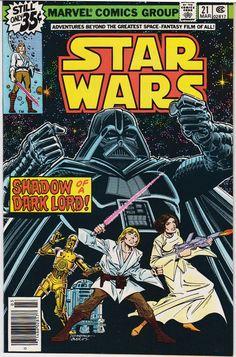 1979-80 Star Wars #21-40 Marvel Comics (Featuring Carmine Infantino, Al Williamson, and Carlos Garzon Cover/Art)