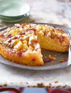 Voor 1 taart Verwarm de oven voor op 180 ˚C. Vet een ronde taartvorm van 20 cm doorsnee dun in en bekleed de bodem met bakpapier. (Lees verder…)