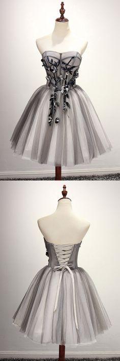 2018 Prom Dresses #2018PromDresses, Short Prom Dresses #ShortPromDresses