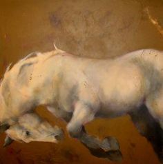 Mase Lucas horse painting