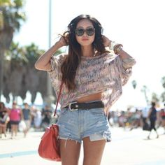 obsessed with high waisted shorts.